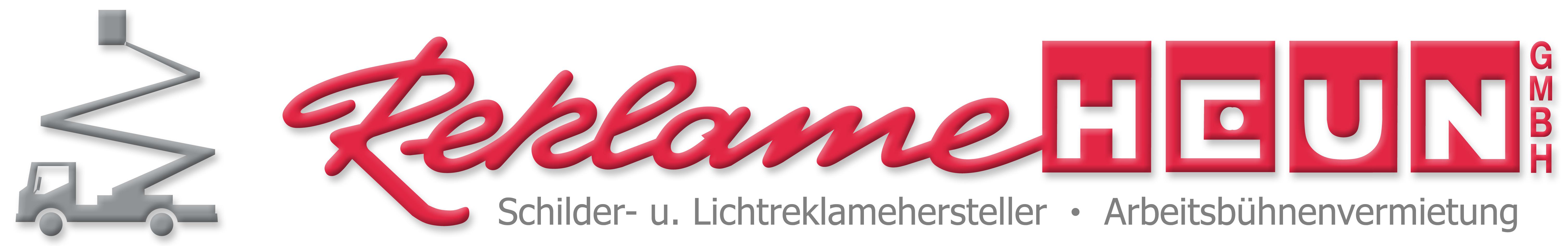 Reklame Heun Logo neu