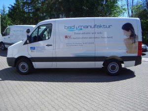 Fahrzeugbeschriftung mit Folien und Digitaldrucken