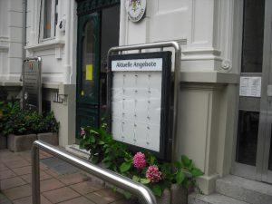 Informationssystem als Schaukasten
